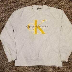 Velvet Calvin Klein spell out sweatshirt